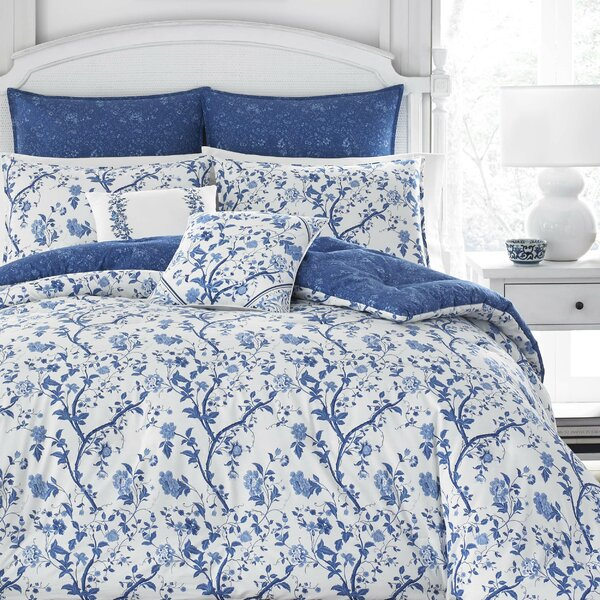 Elise 100% Cotton Comforter Set by Laura Ashley Ho by Laura Ashley Home